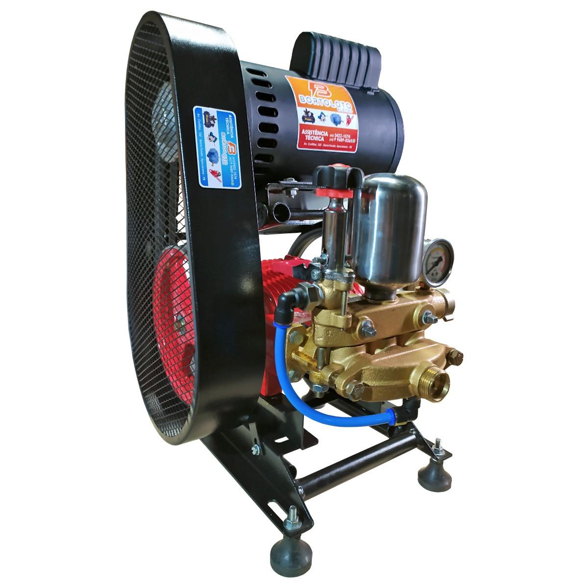 Hidro Lavadora de Alta Pressão 22 L Motor 2cv Mono 20m Mangueira