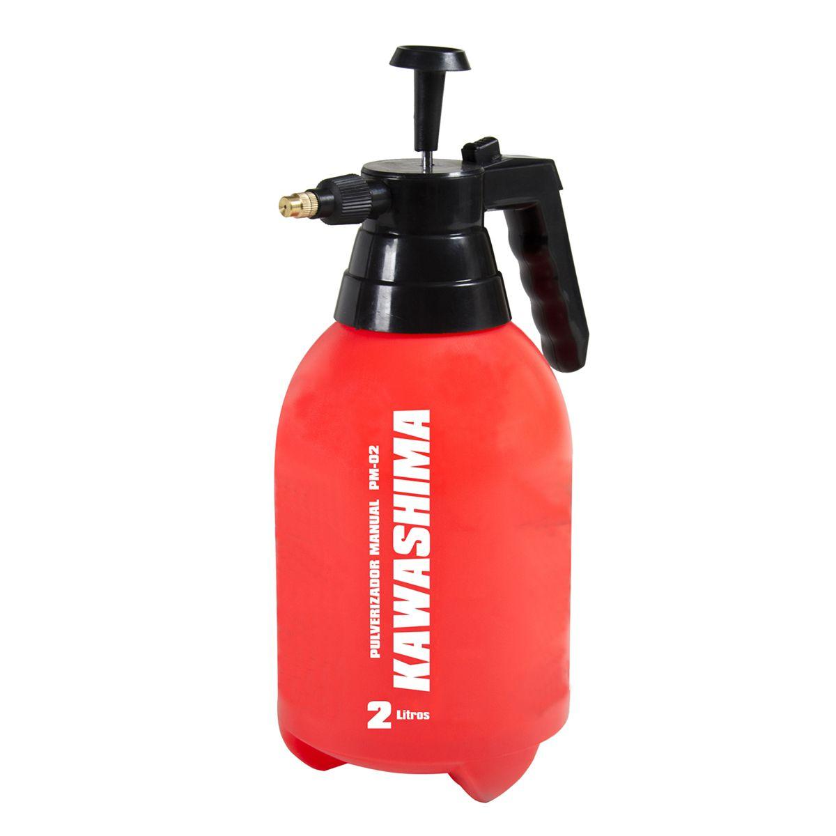 Pulverizador e Borrifador De Pressão Acumulada 2l Kawashima Kit C/ 5 Unidades