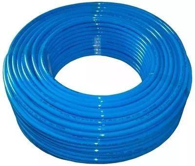 Mangueira Pneumática De Poliuretano (pu) Tubo 6mm Azul - 1 Metro