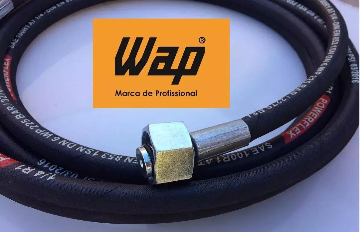 Mangueira Wap Excellent Valente Mini Plus Super T Aço 5 Mts