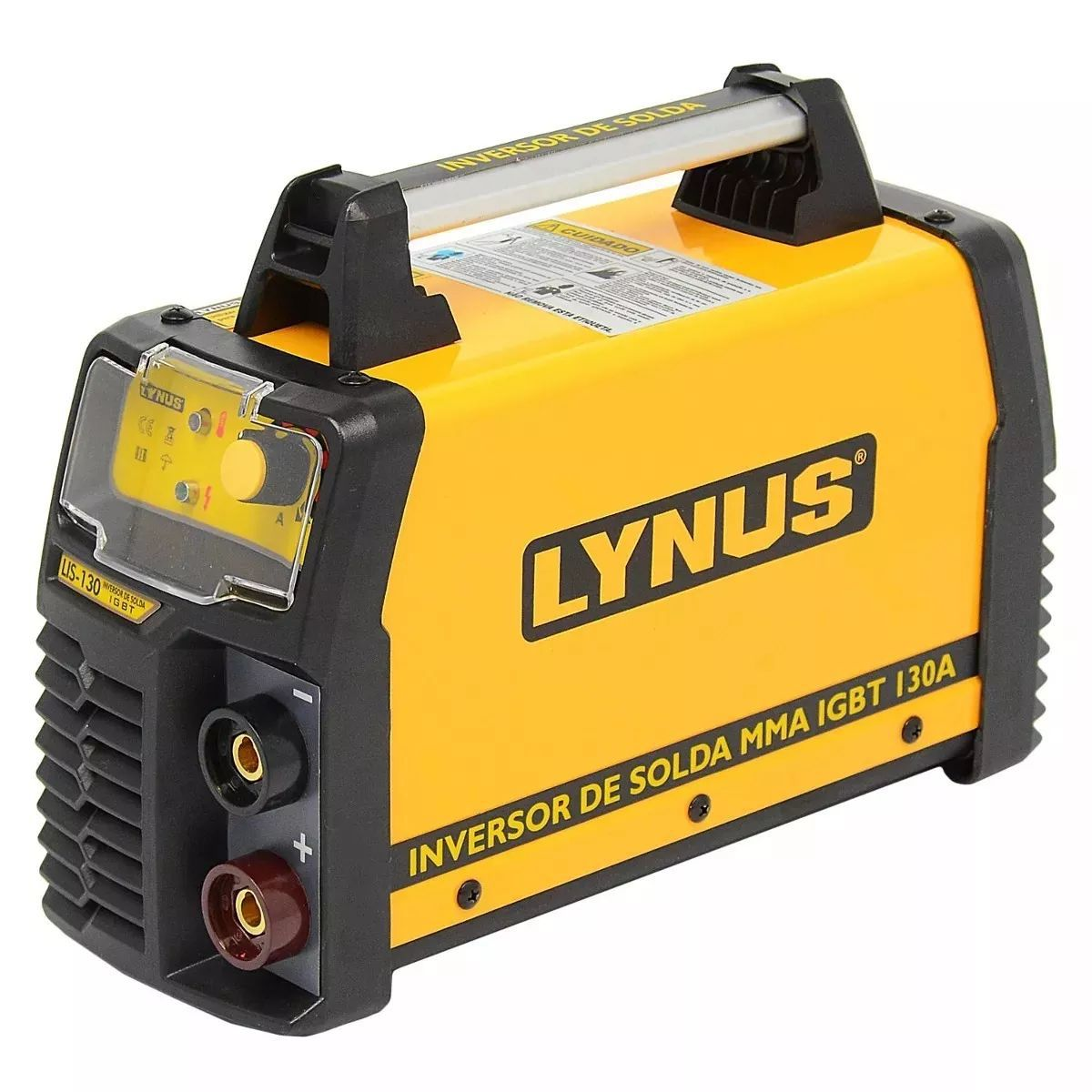 Máquina De Solda Fonte Inversora Portátil Lis130a Lynus 220v