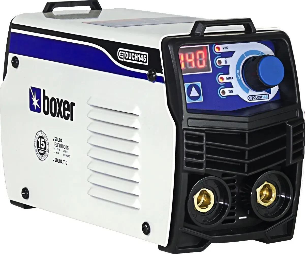Maquina de Solda Inversora Portátil 140a Eletrodo Touch 145 Boxer 127v