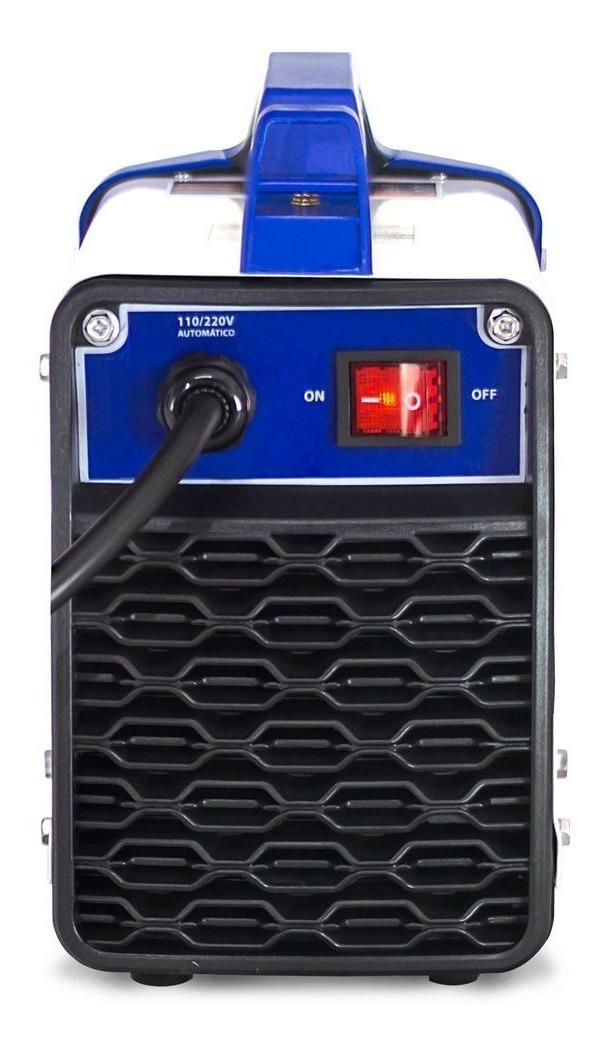 Maquina de Solda Inversora Portátil 140a Eletrodo Touch 150 Boxer Bivolt