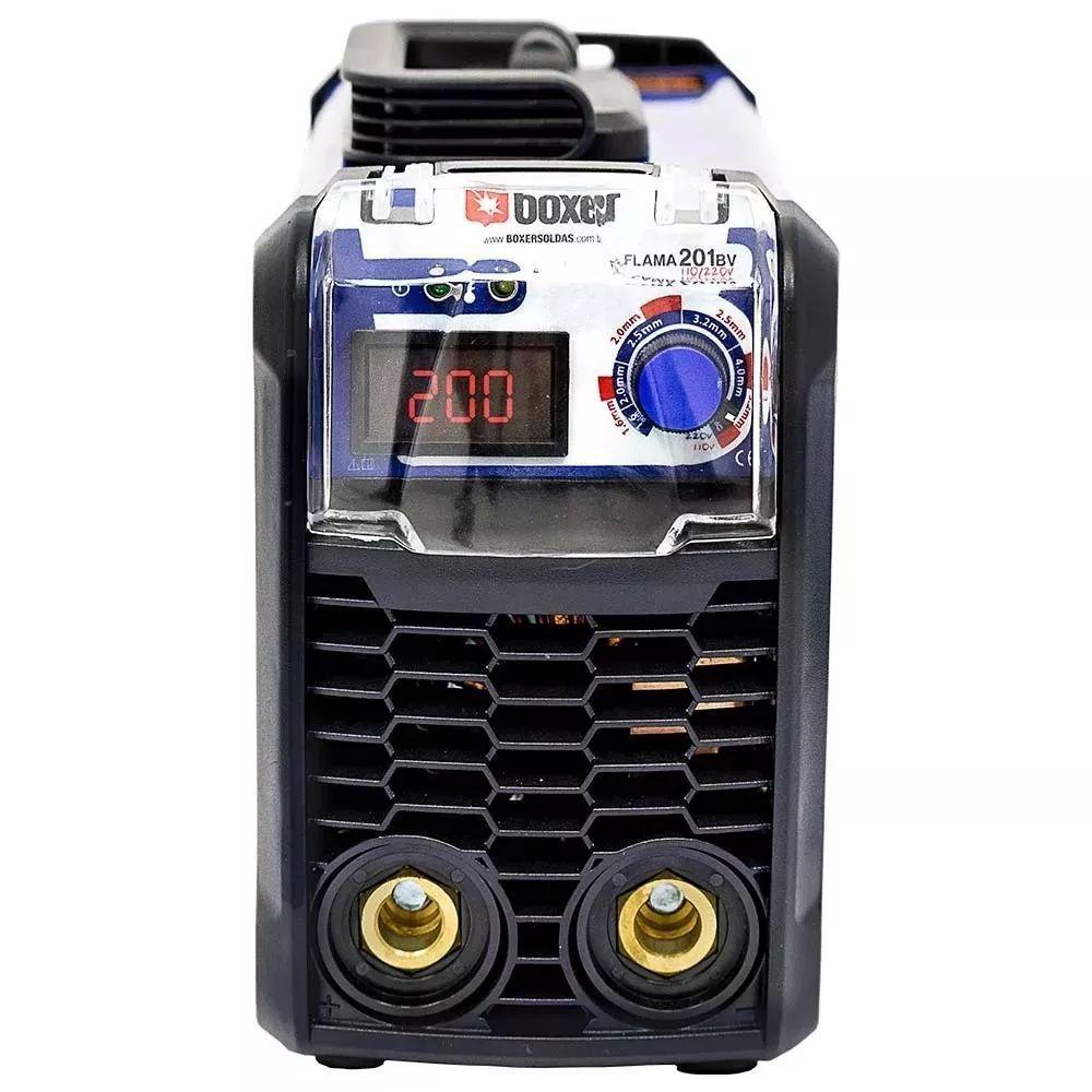 Melhor Máquina De Solda Inversora 200a Flama201 Boxer Bivolt
