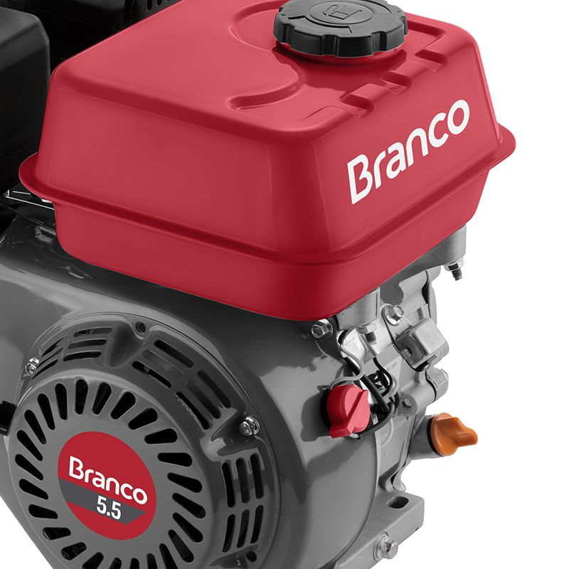 Motor à Gasolina 5,5CV 4T Partida Manual B4T-5.5H Branco