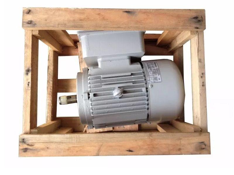 Motor Elétrico Blindado 10cv 4polos Monofasico Baixa Rotação Carcaça 132