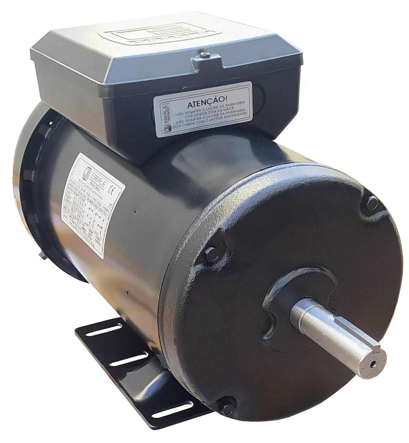 Motor Elétrico Monofásico 2cv Alta Rotação 110/220v Ip44 Fechado 2 Polos Eberle Mercosul