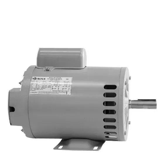Motor Elétrico Monofásico 1,5cv 4polos 110/220 Baixa Rotação