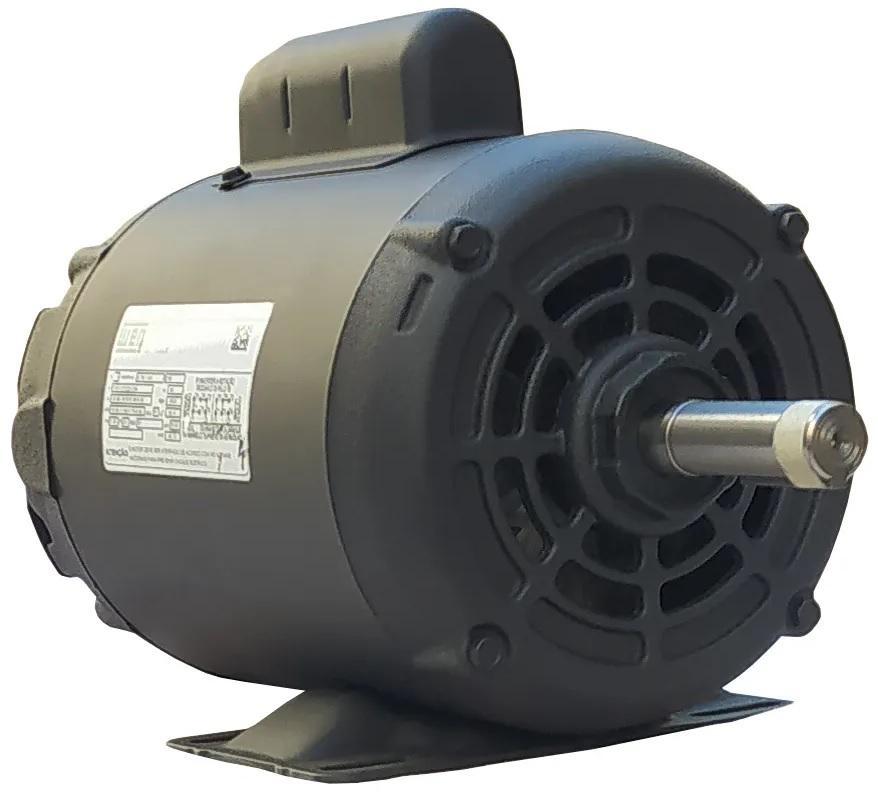Motor Elétrico Monofásico 1cv 4 Polos 110/220 Baixa Rotação Weg Betoneira
