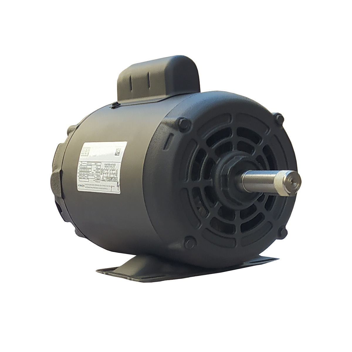 Motor Elétrico Monofásico 1cv Alta Rotação 110/220v Weg 2 Polos IR3