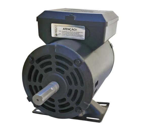 Motor Elétrico Monofásico 2cv 2 Polos 110/220v Alta Rotação Eberle