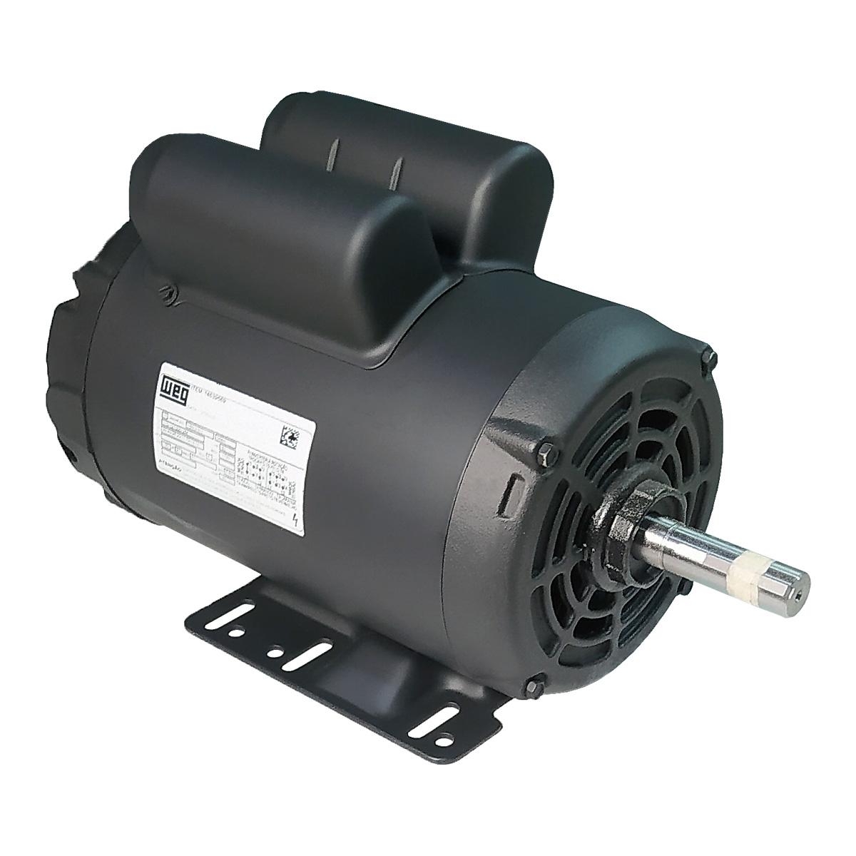 Motor Elétrico Monofásico 3cv Alta Rotação 110/220v Weg 2 Polos IR3