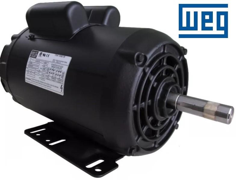 Motor Elétrico Monofásico 3cv Baixa Rotação 110/220v Weg 4 Polos IR3