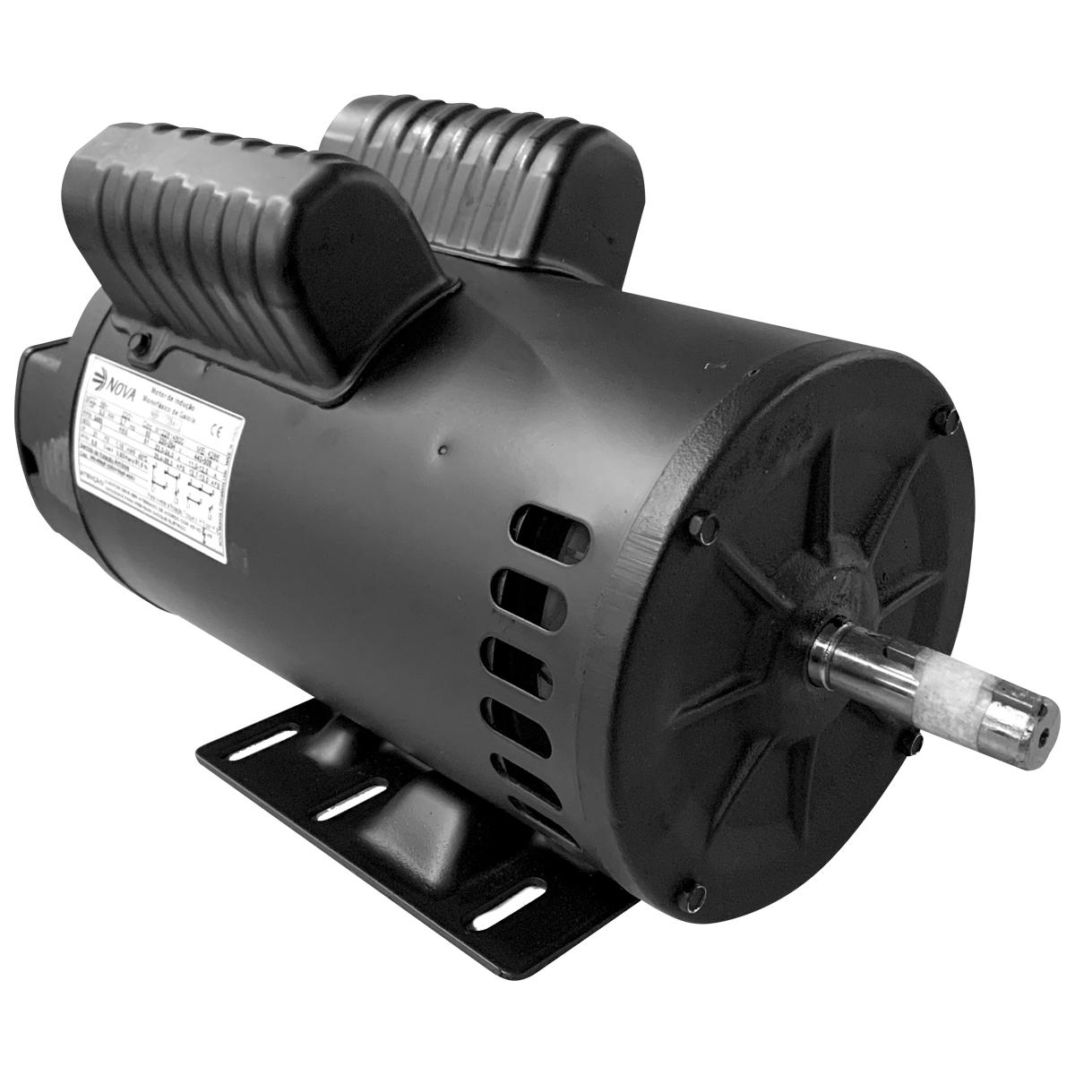 Motor Elétrico Monofásico 5cv 2 Polos Alta Rotação 220-254v