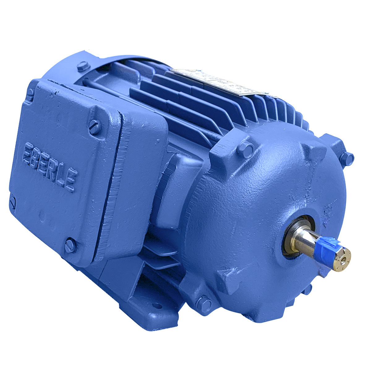 Motor Elétrico Trifásico 0,75cv 4 Polos 4 Tensões Baixa Rotação 3/4 Hp Eberle Mercosul