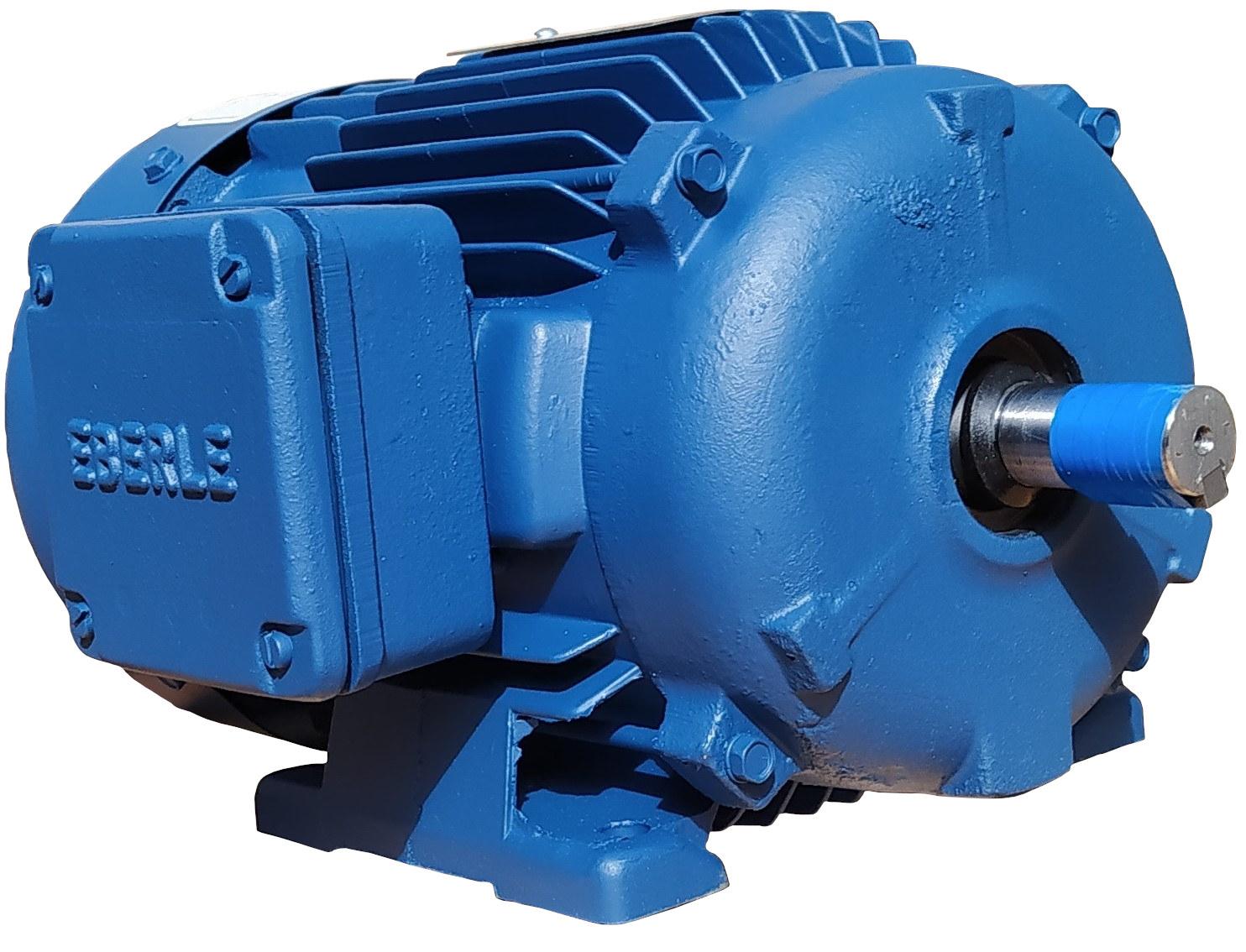 Motor Elétrico Trifásico 2cv Alta Rotação 3480 Rpm 2 Polos 220V 380V 440V 760V Eberle Mercosul