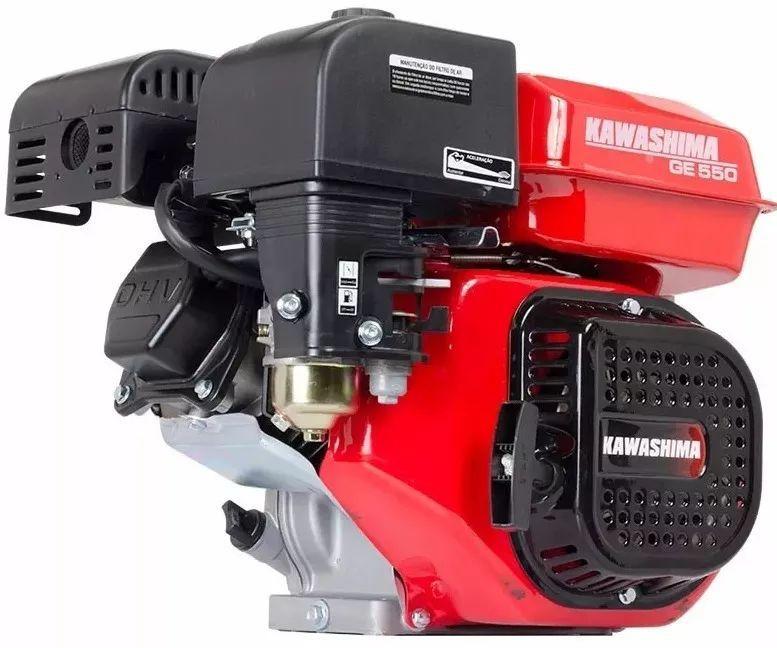 Motor Estacionário 5,5hp Eixo Horizontal 4t Kawashima Ge550