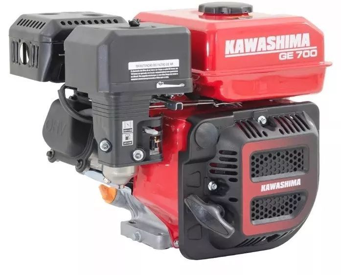 Motor Estacionário 7hp À Gasolina Ge700 Kawashima