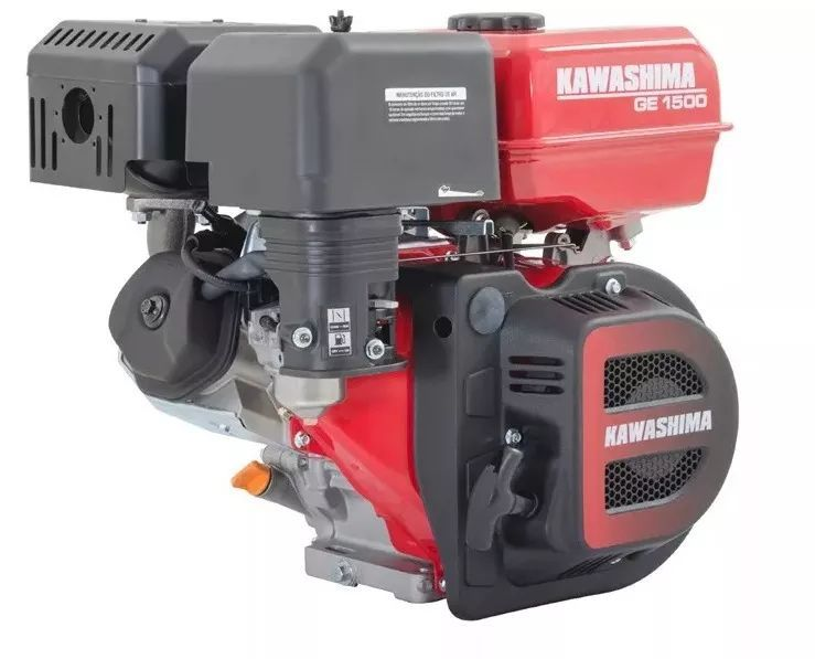 Motor Estacionário Ge1500 Kawashima 15hp 4t A Gasolina