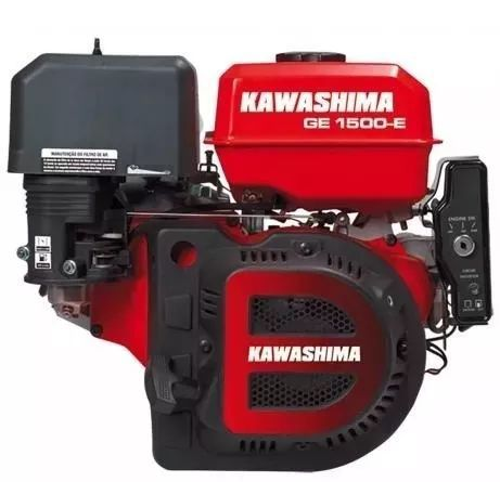 Motor Estacionário Ge1500e Kawashima 15hp Partida Elétrica