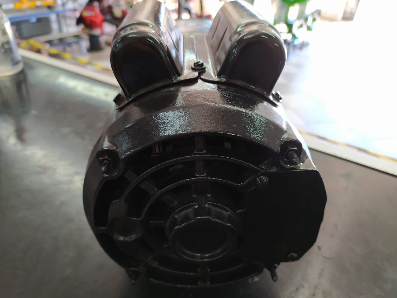Motor Monofasico 3CV 2 Polos 3450rpm Alta Rotação IP21 110/220V Usado