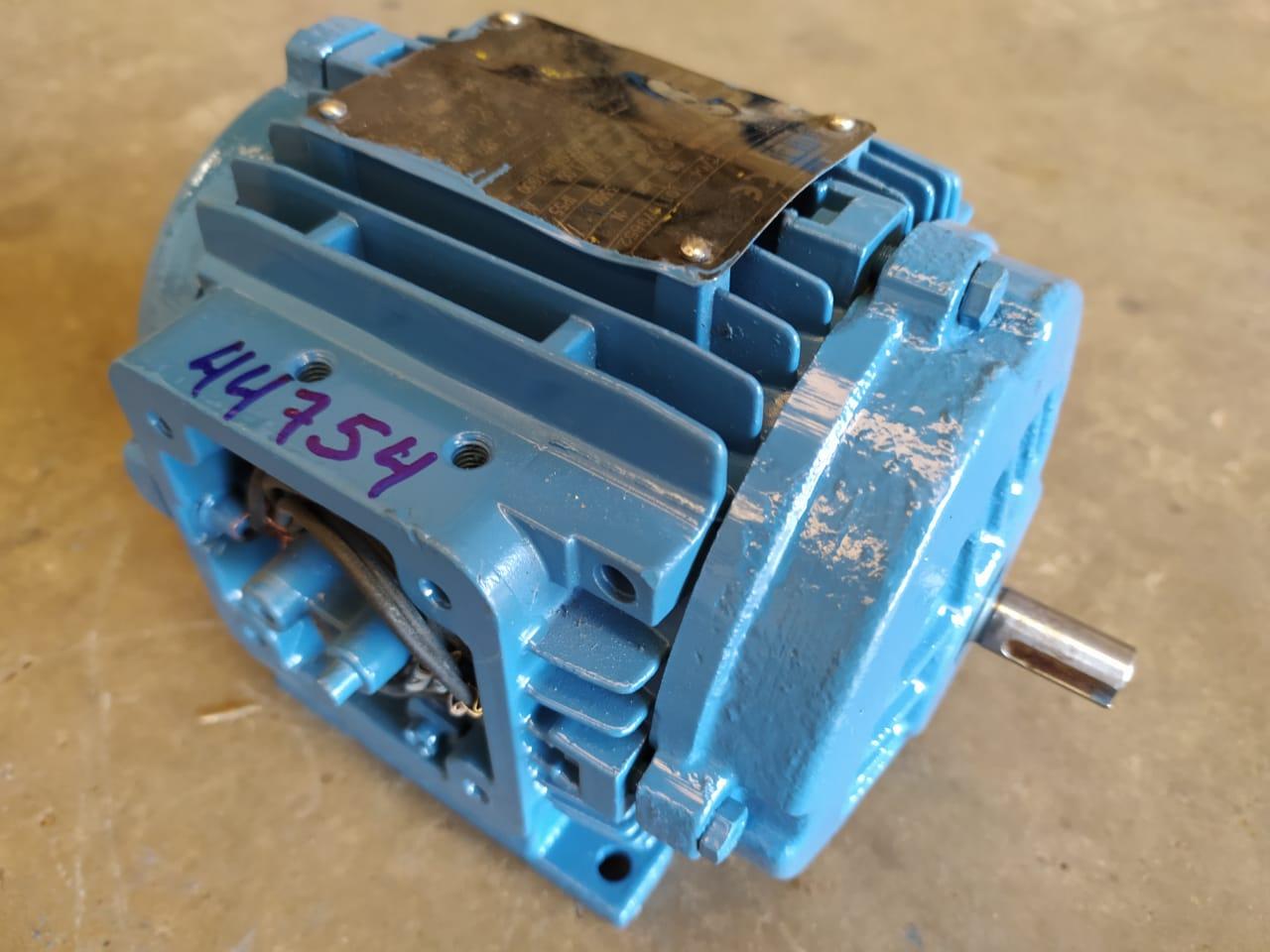 Motor Trifásico Weg 1/2CV 220/380V 2 Polos Alta Rotação Exaustor Usado