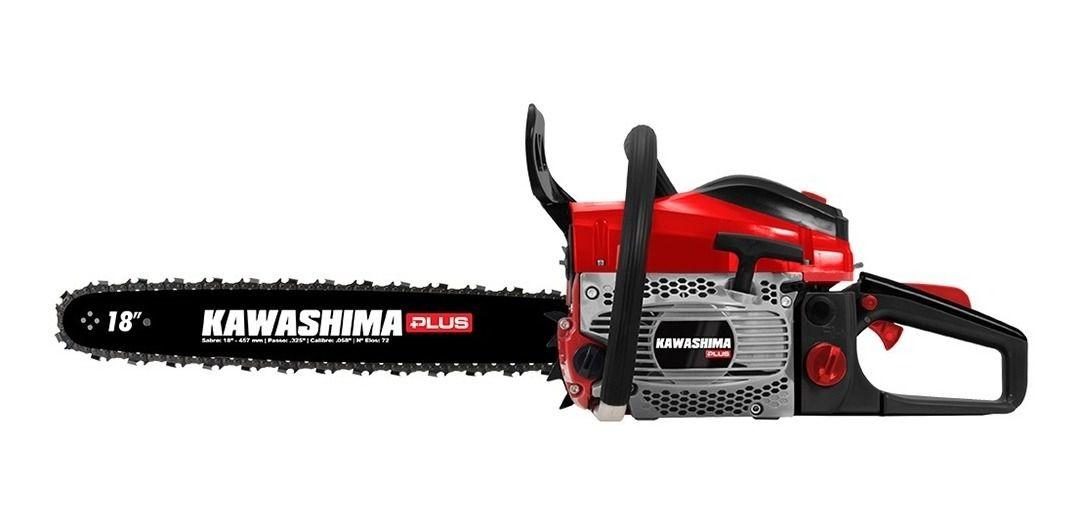 MotoSerra Gasolina 49,3 Cc Kawashima Plus Kcs 500p Sabre 18 Polegadas