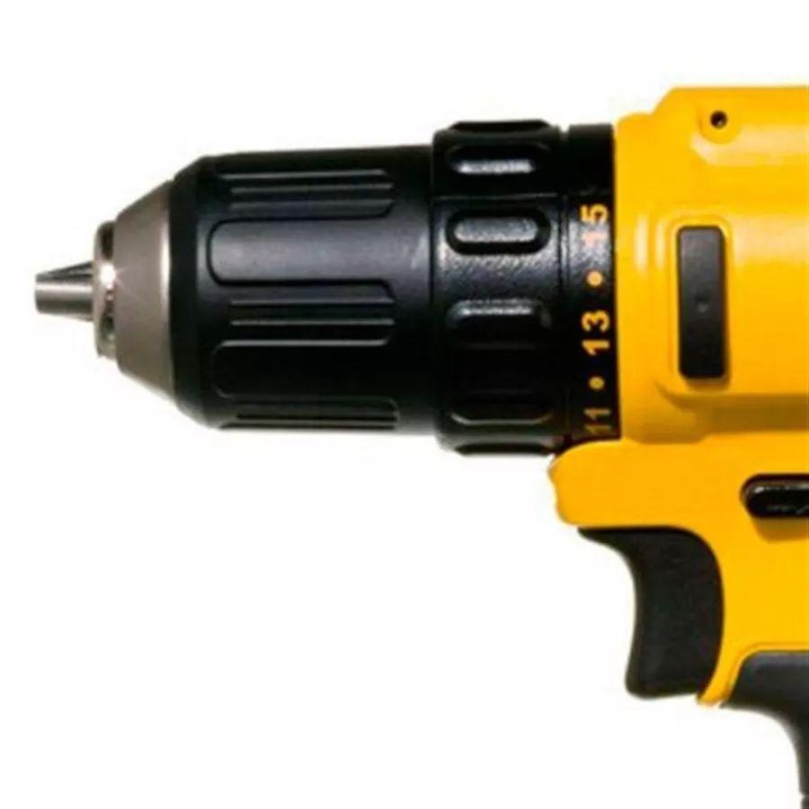 Parafusadeira Dewalt 12v Ion-lítio Dcd710d2-br 2 Bateria Biv