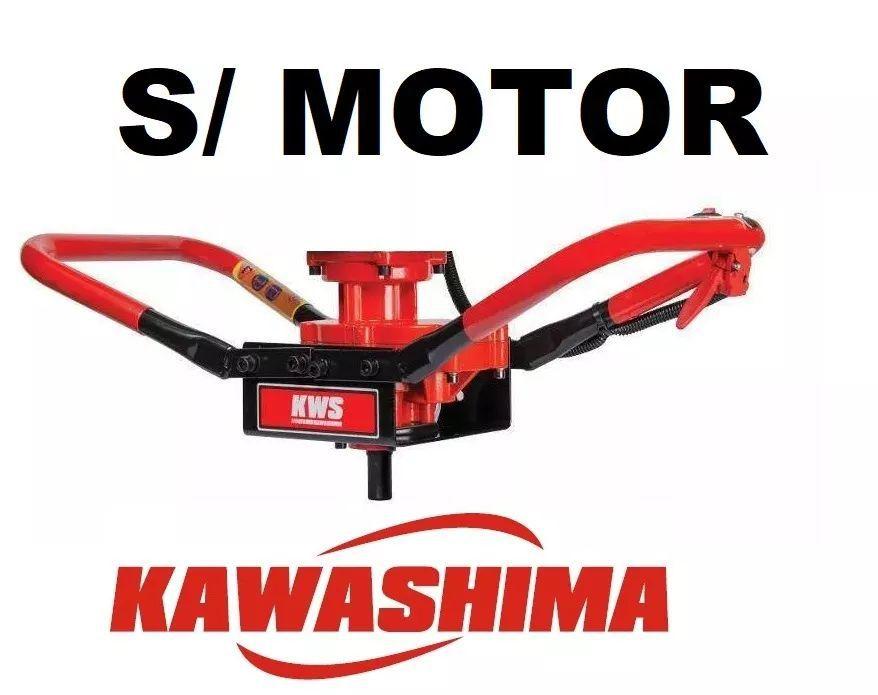 Perfurador De Solo Kawashima Sem Motor Suporte C/ Redução