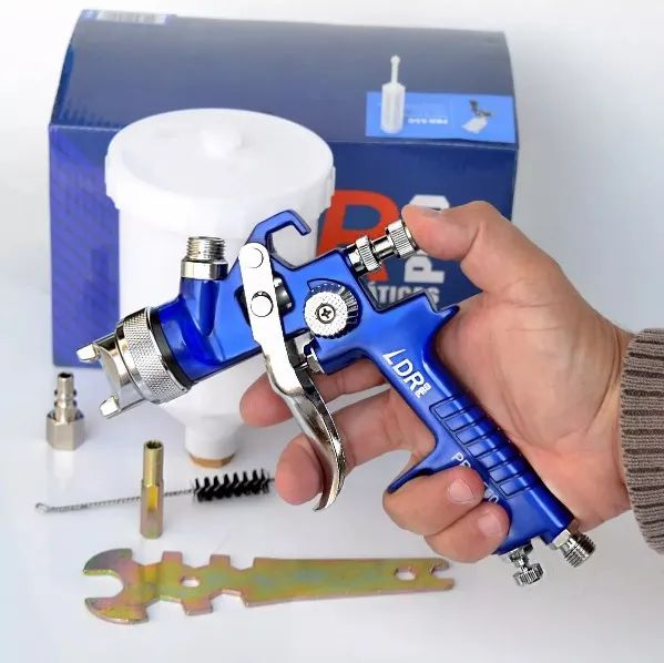 Pistola De Pintura Automotiva de Gravidade 600 Ml Hvlp 1.4mm Pro 550 Pdr LRD-PRO
