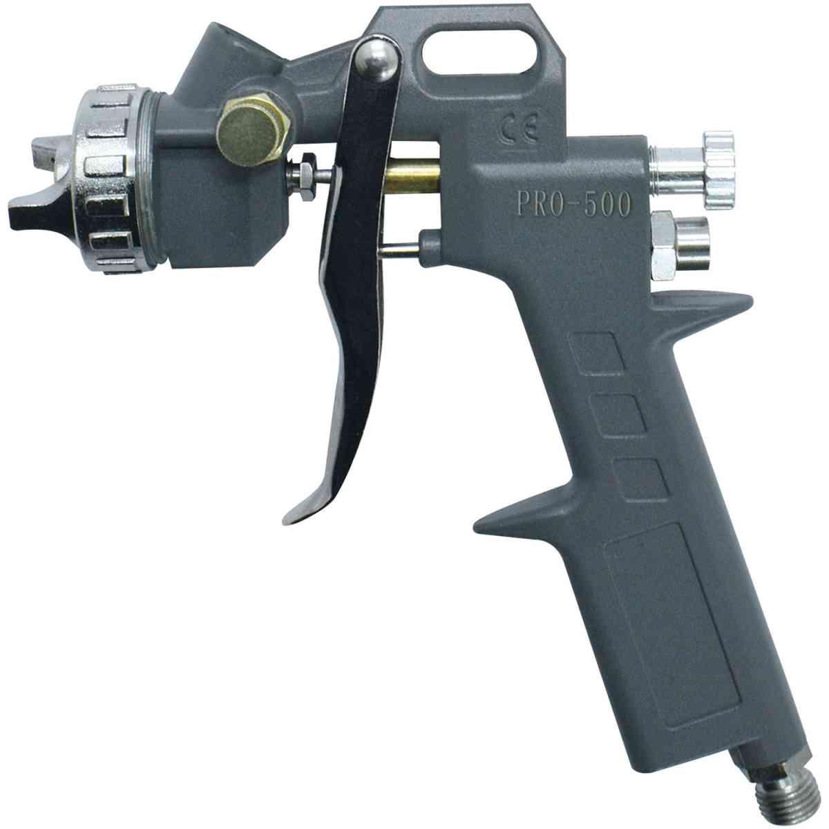 Pistola Para Pintura Gravidade 500ml PDR PRO-500 Bico 1,5mm