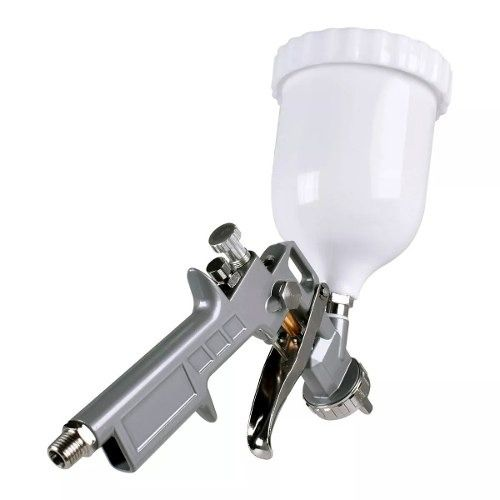 Pistola Para Pintura Gravidade 600ml Stels 5731455 Bicos 1,2 / 1,5 / 1,8