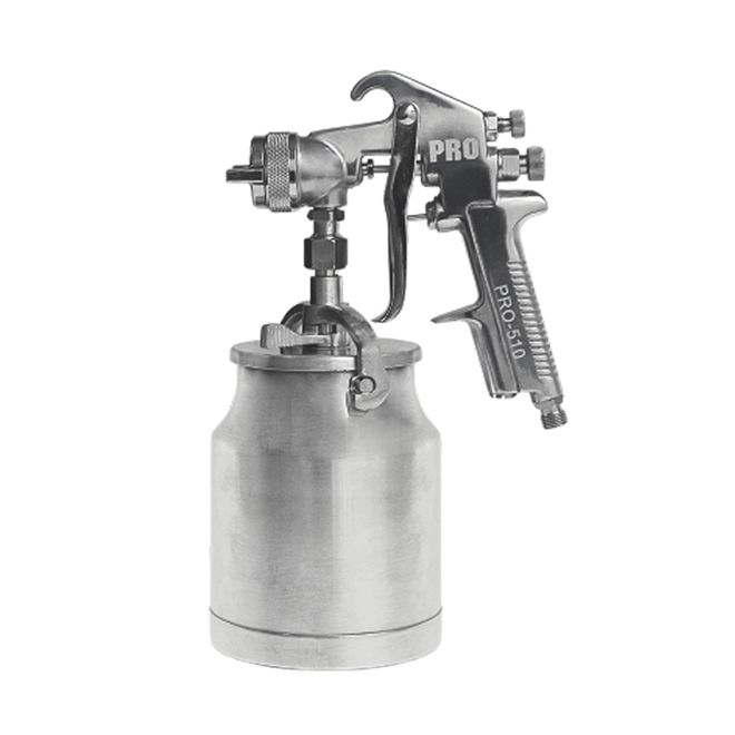 Pistola Para Pintura Sucção 1L Pdr PRO-510 Bico 1,6mm
