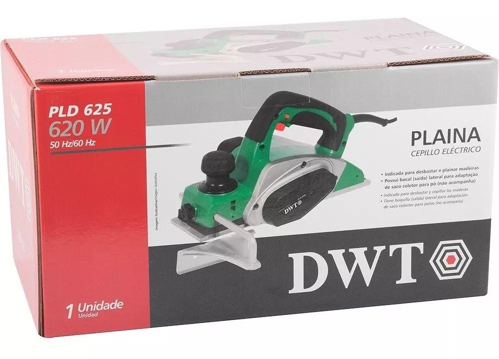 Plaina Elétrica 620 watts Com Profundidade de Corte de 2,5 mm - PLD-625 - Dwt - 127V