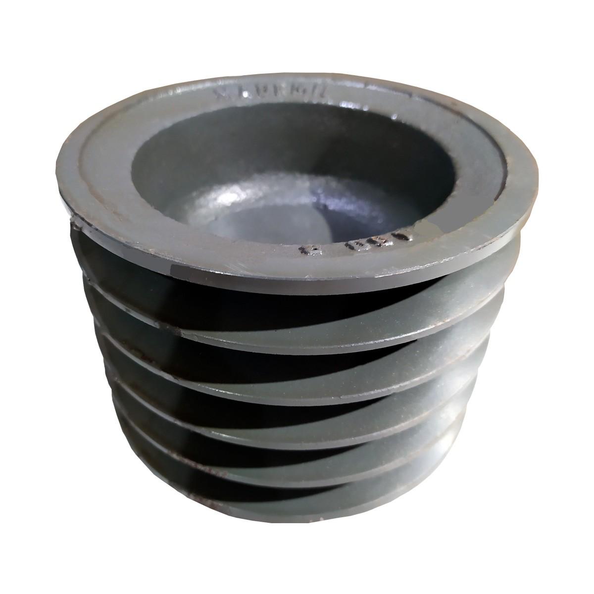 Polia De Ferro 150mm 5 Canal B Sem Furo