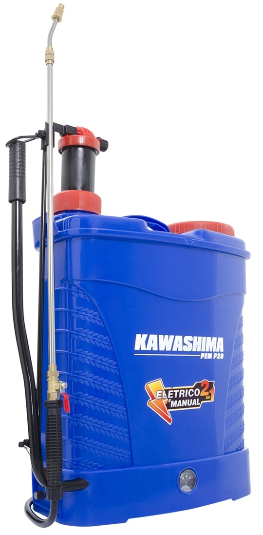 Pulverizador Costal 2 Em 1 Elétrico E Manual Kawashima 20l