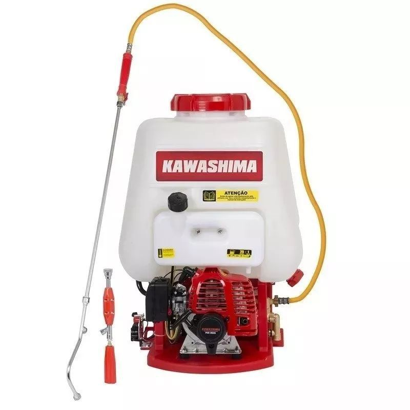 Pulverizador Costal Motorizado Gasolina Kawashima Pcg 2625