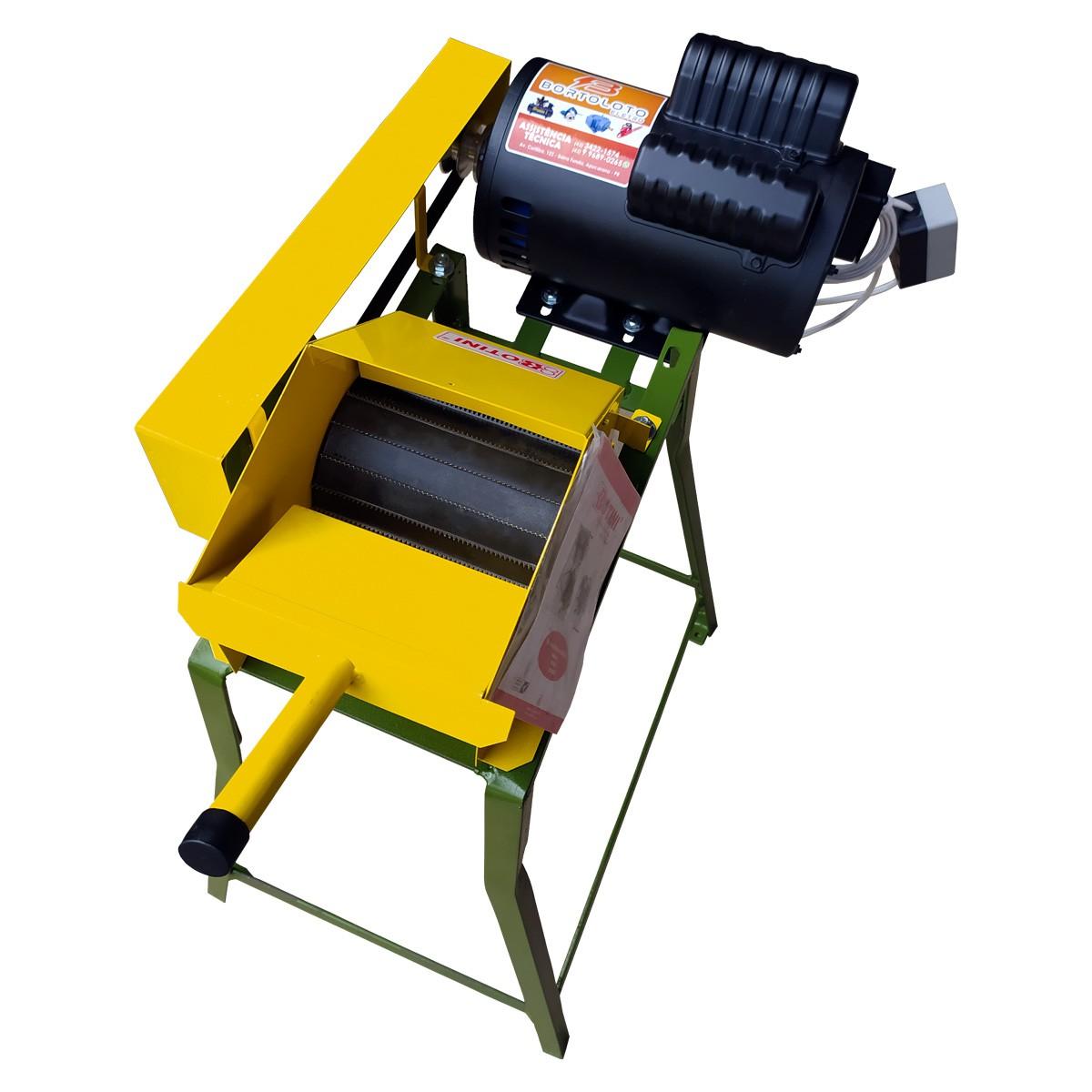 Ralador de Mandioca Alto Botini Completo Motor 2cv Monofásico 110/220V