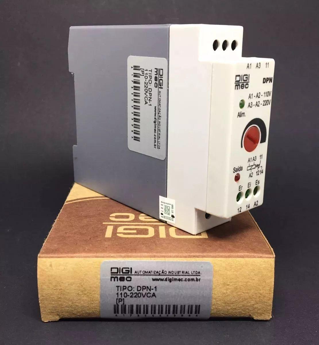 Rele Controle De Nível Inferior/superior Dpn-1 Digimec Bivolt