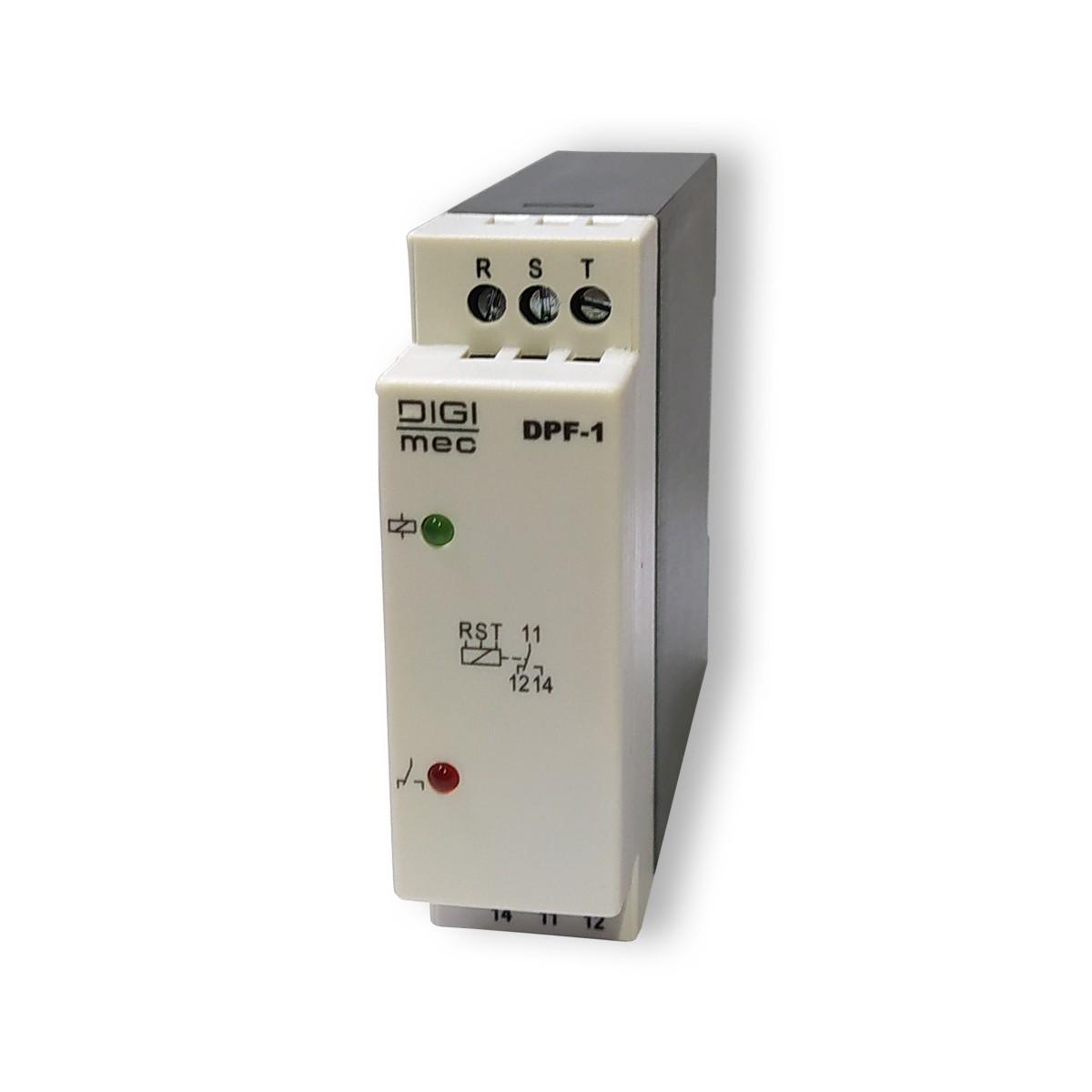 Relé Falta De Fase Digimec DPF-1 208/480v S/ Neutro