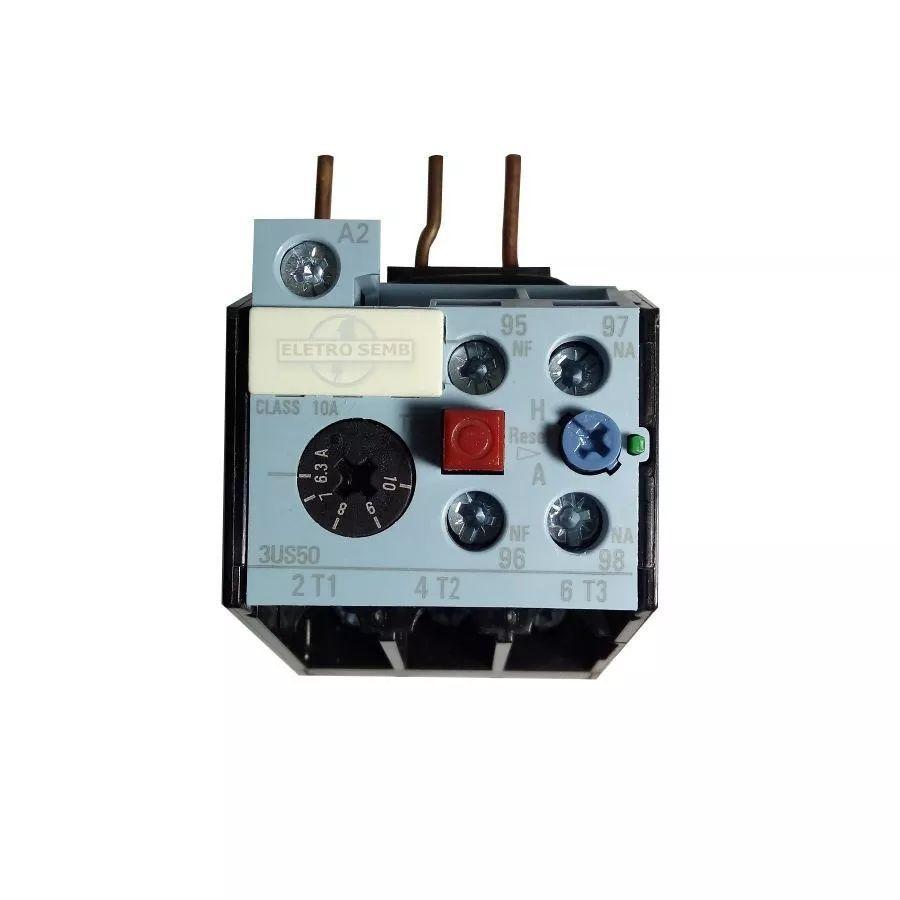 Relé Térmico De Sobrecarga 3us50 Altronic Siemens 6,3 - 10a