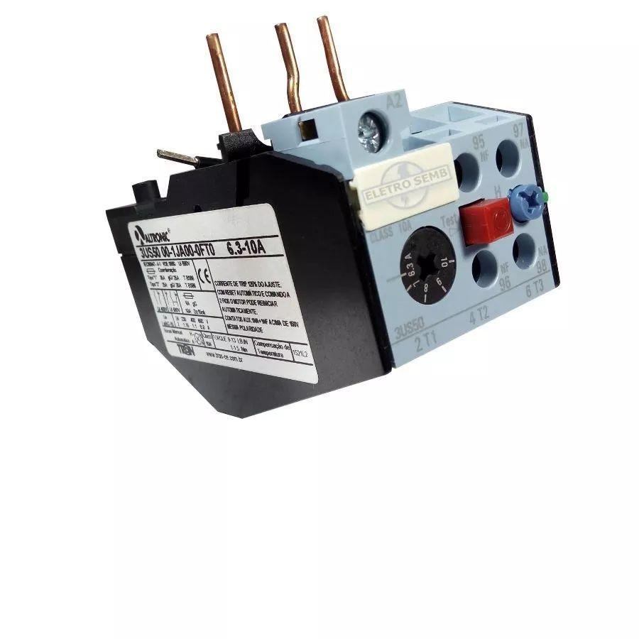 Relé Térmico De Sobrecarga 3us50 Altronic Siemens 8 - 12,5a