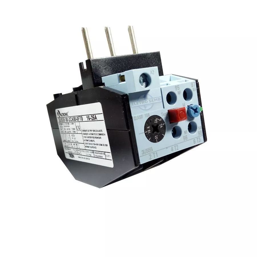 Relé Térmico De Sobrecarga 3us55 Altronic Siemens 16 - 25a