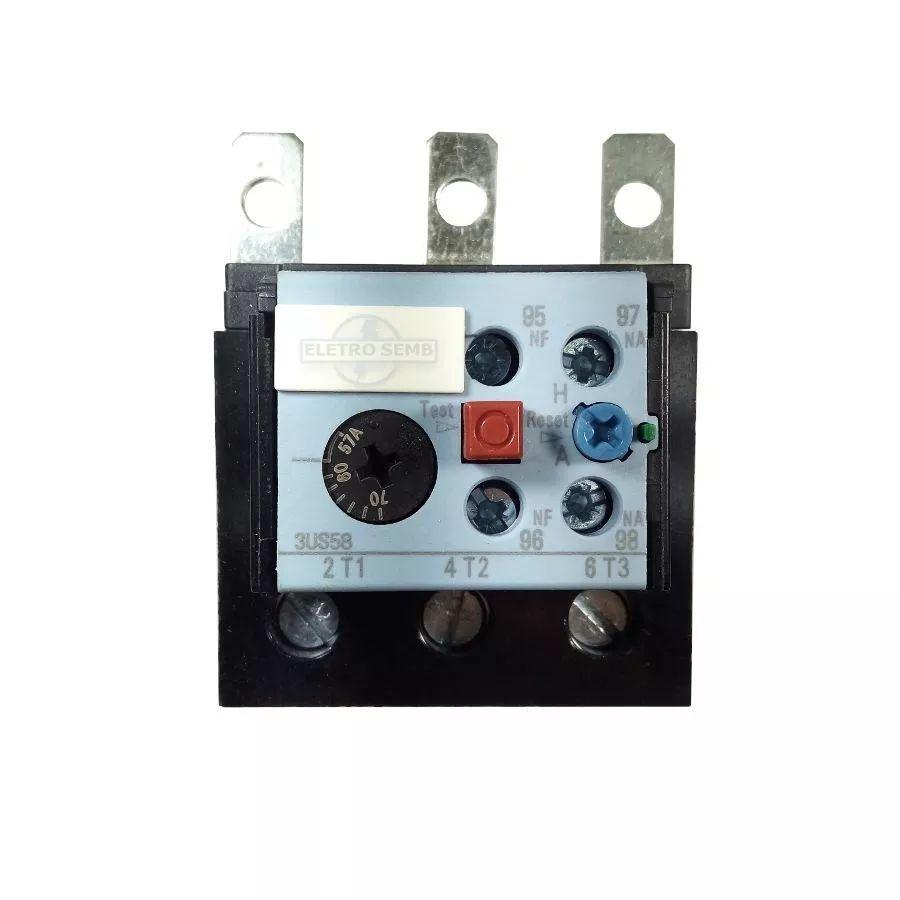 Relé Térmico De Sobrecarga 3us58 Altronic Siemens 40 - 57a