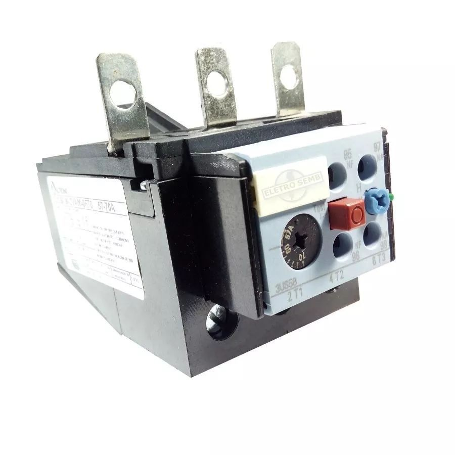 Relé Térmico De Sobrecarga 3us58 Altronic Siemens 57 - 70a