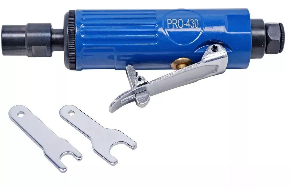 Retífica Mini Pneumática Ar Profissional Pro-430 Pinça 1/4