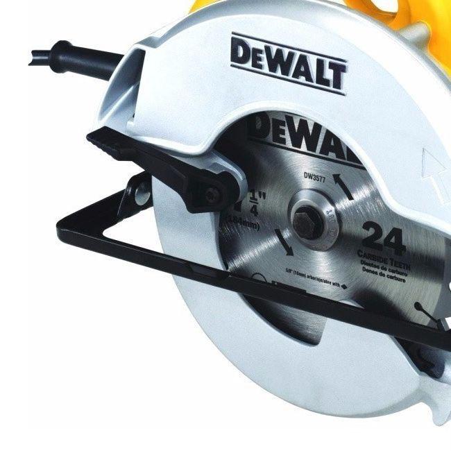 Serra Circular Dewalt 1400w 5500rpm Disco 7 1/4 Dwe560 127v