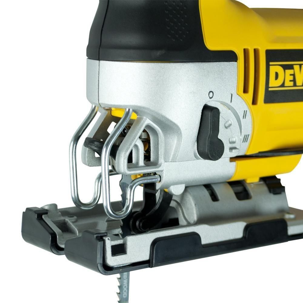 Serra Tico Tico 500 Watts Velocidade Variável Eletrônica e Ação Pendular 45 Graus DW300BR 127V Dewalt