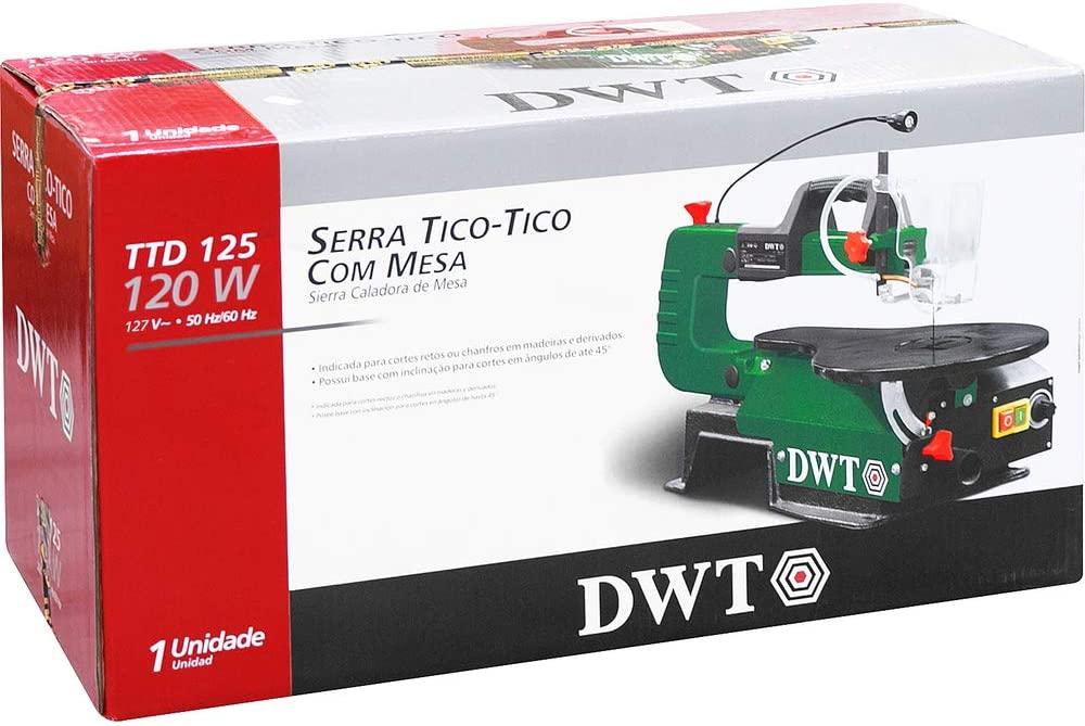 Serra Tico Tico Com Mesa 120W TTD-125 DWT 127V