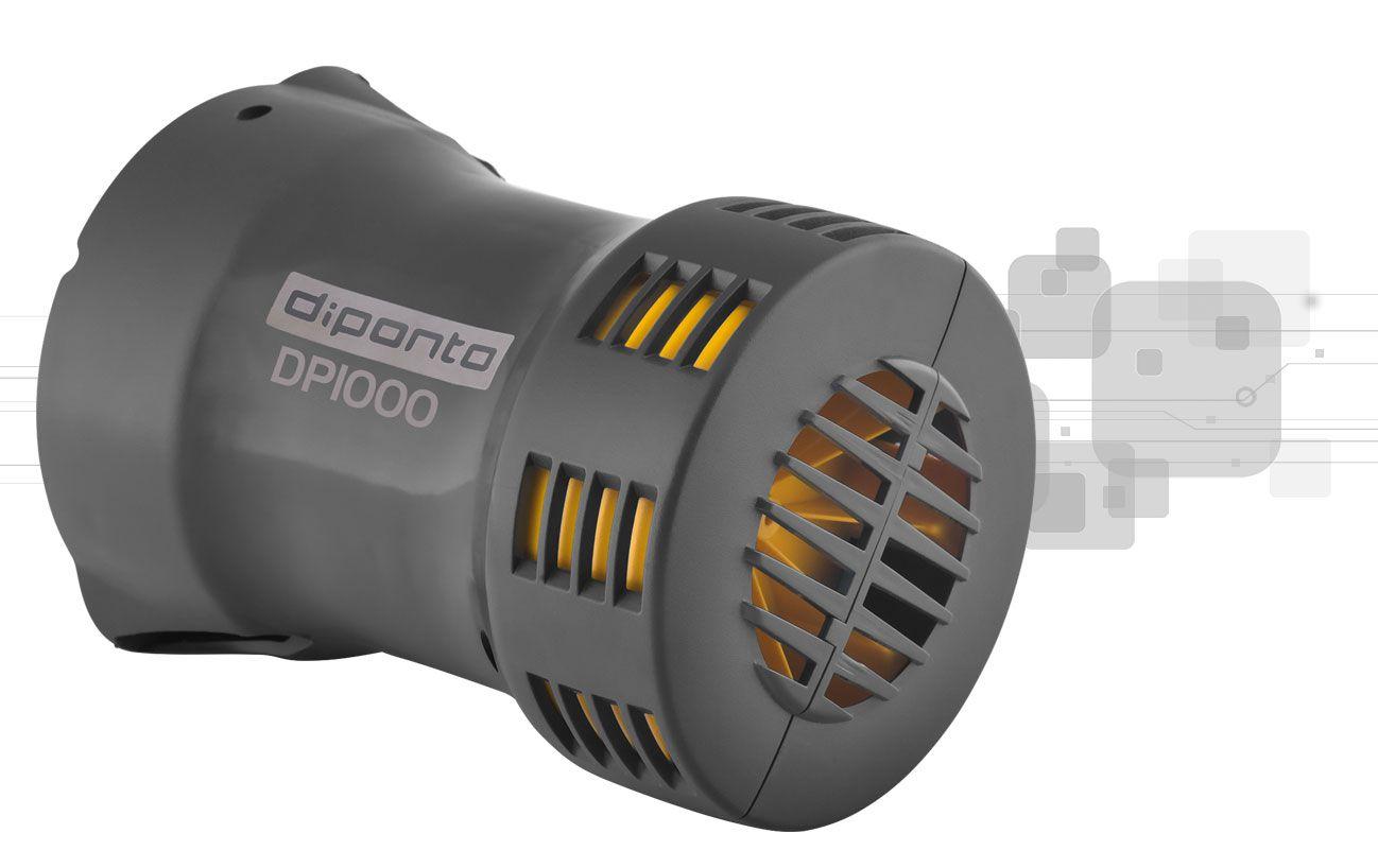 Sirene Rotativa 1000 Metros 127v + Acionador Horário DPSIN